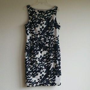 🆕️🎉ANN TAYLOR zip SIDE career dress beautiful